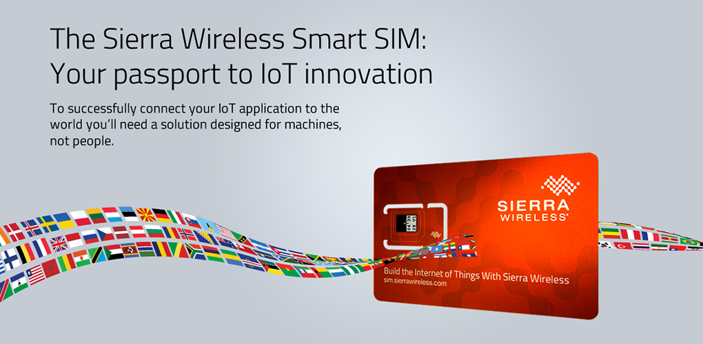 Sierra Wireless global SIM product launch